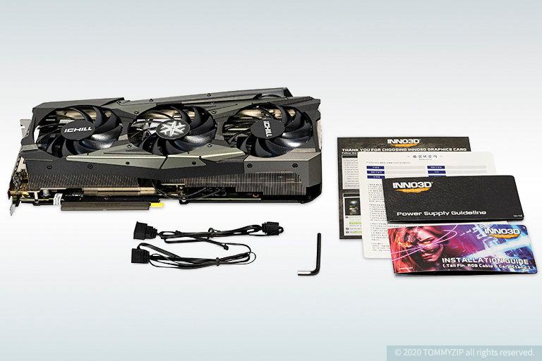rtx 3070 inno3d ichill x4 components