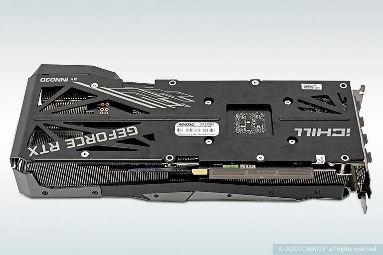 rtx 3070 inno3d ichill x4 rear