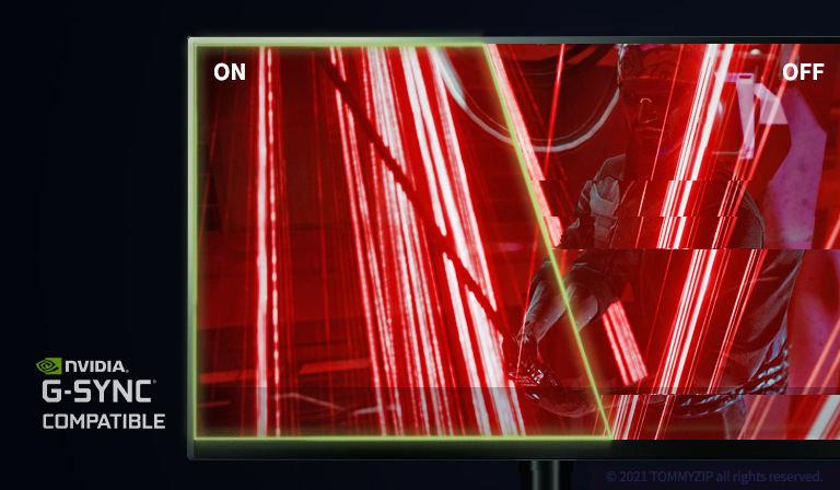 프리싱크 모니터에 G-SYNC 호환 사용하기