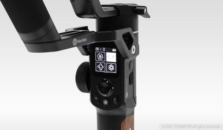 페이유 AK2000S 미러리스 카메라 3축 짐벌 인터페이스