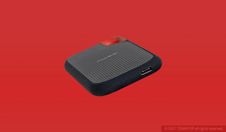 샌디스크 익스트림 포터블 SSD V2 E61 1TB 포트