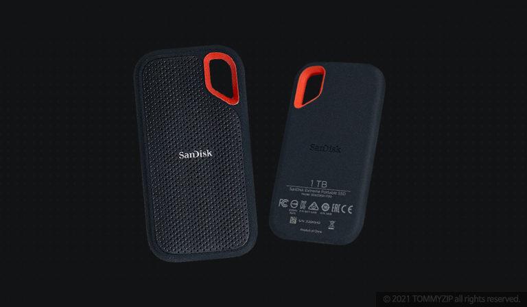 샌디스크 익스트림 포터블 SSD V2 E61 1TB 타이틀